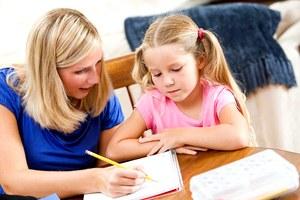 Домашнее обучение для ребенка.