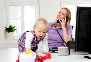 Как получать зарплату мамам-фрилансерам?