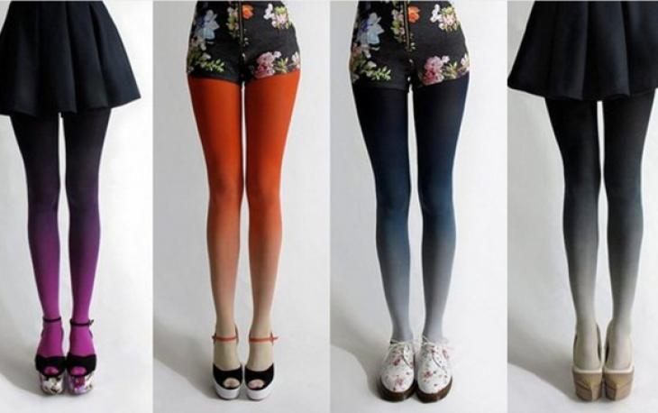 Модные колготки: правила выбора и сочетания
