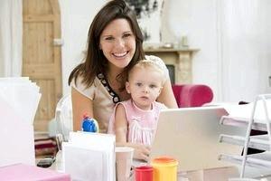 Работа на дому для мамы: быть фрилансером или нет?