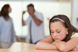 Как рассказать детям о разводе родителей?