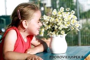 Сезонная аллергия у малышей