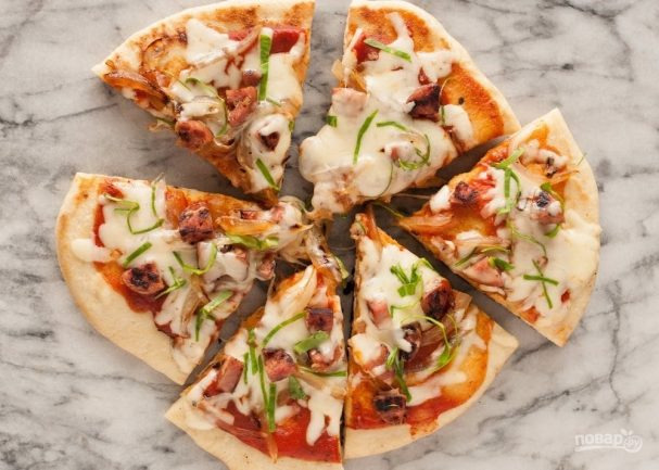 Рецепт пиццы «Молния»